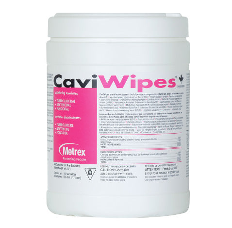 CaviWipes surface disinfectant wipes - Large - Boxes of 160 wipes
