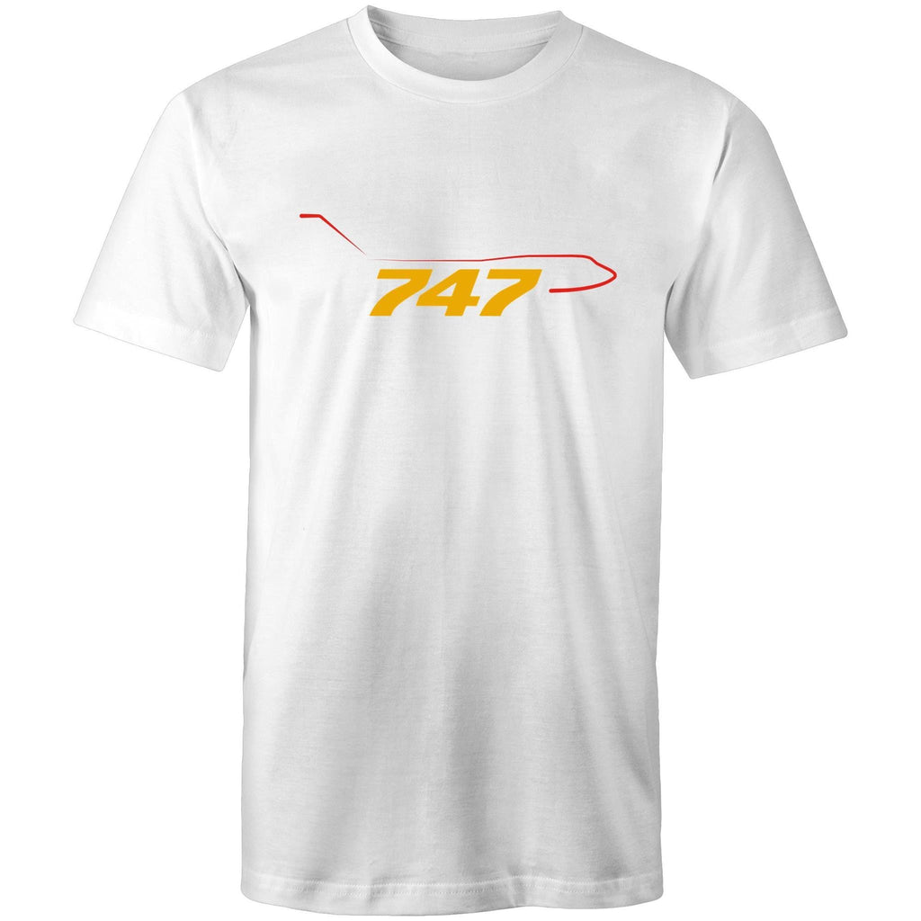 The 747 - Men's Crew-Neck Tee - Just Print Co