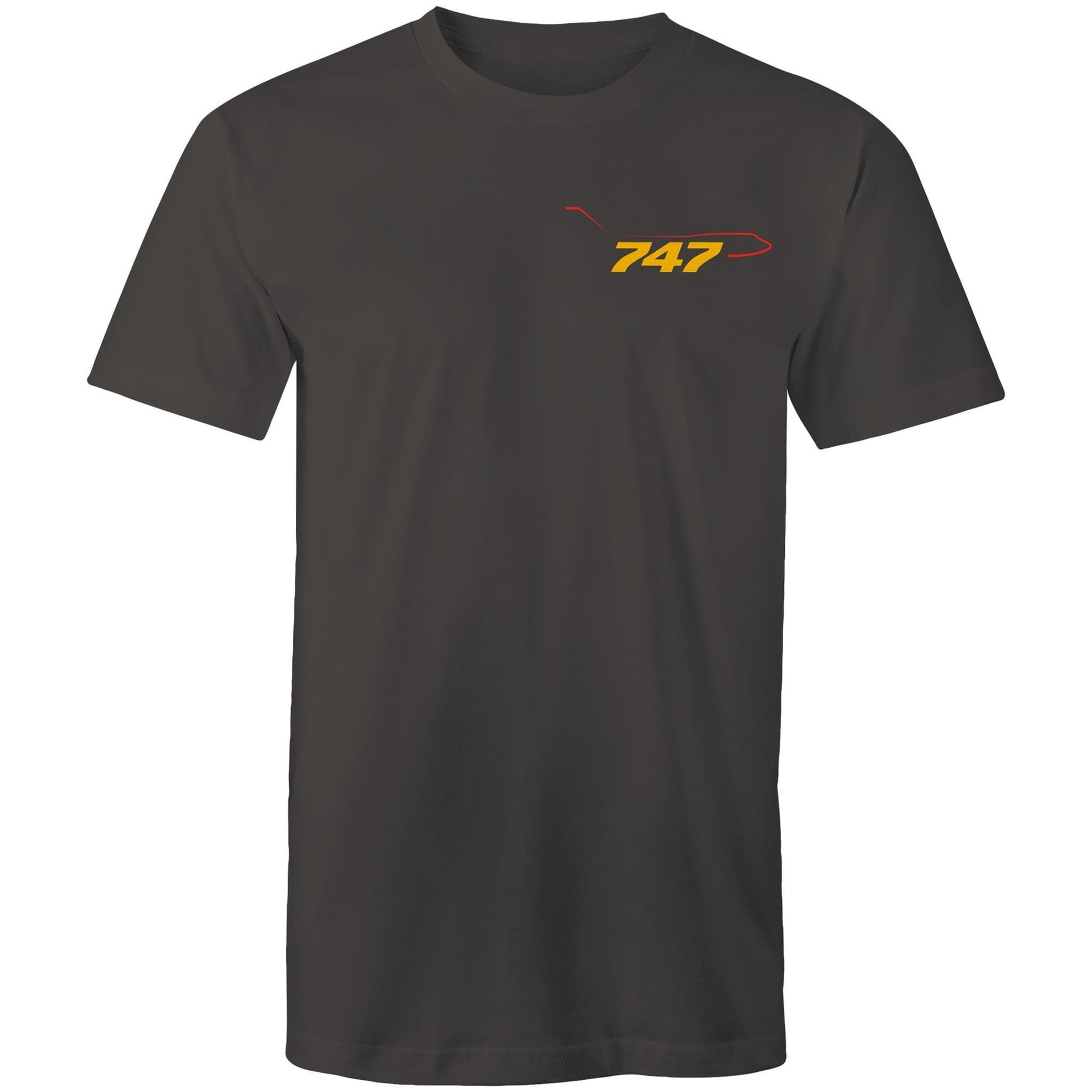 The 747 Pocket - Men's Crew-Neck Tee - Just Print Co