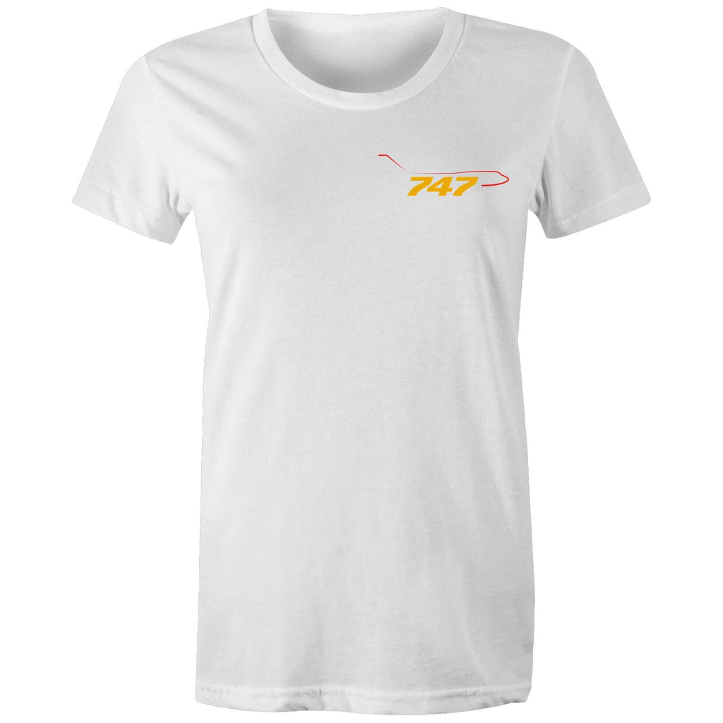 The 747 Pocket - Women's Crew-Neck Tee - Just Print Co