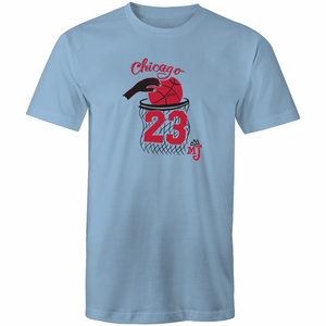 The Bulls - Men's Crew-Neck Tee - Just Print Co