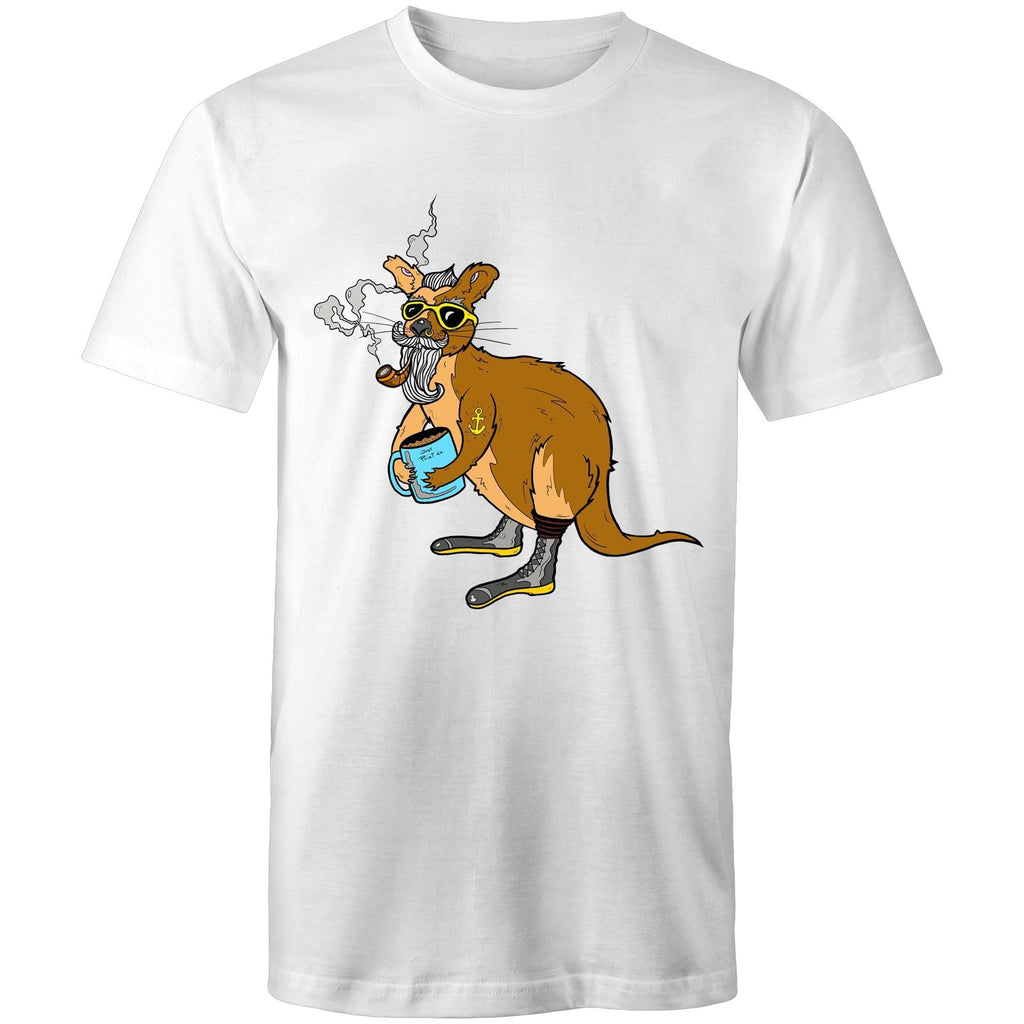 The Kanga - - Men's Crew-Neck Tee - Just Print Co