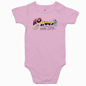 The No Hugs - Baby Onesie - Just Print Co