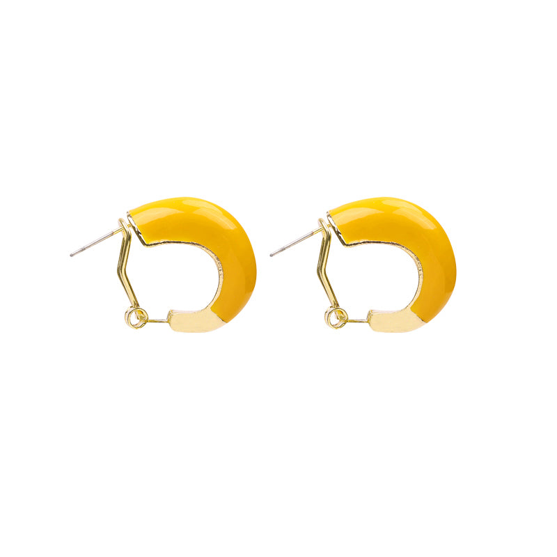 Oorbellen Colorful Hoops