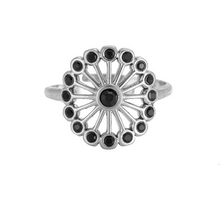Afbeelding in Gallery-weergave laden, Ring Black Dandelion