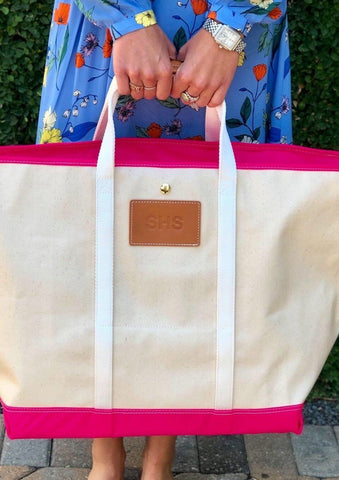 Monogram Tote Bag - Charlotte's Inc