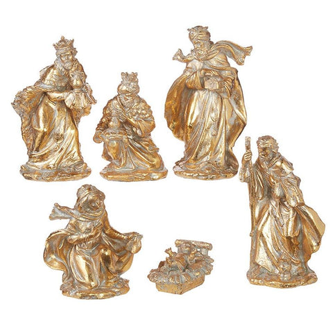Raz Imports Star of Wonder Nativity Set