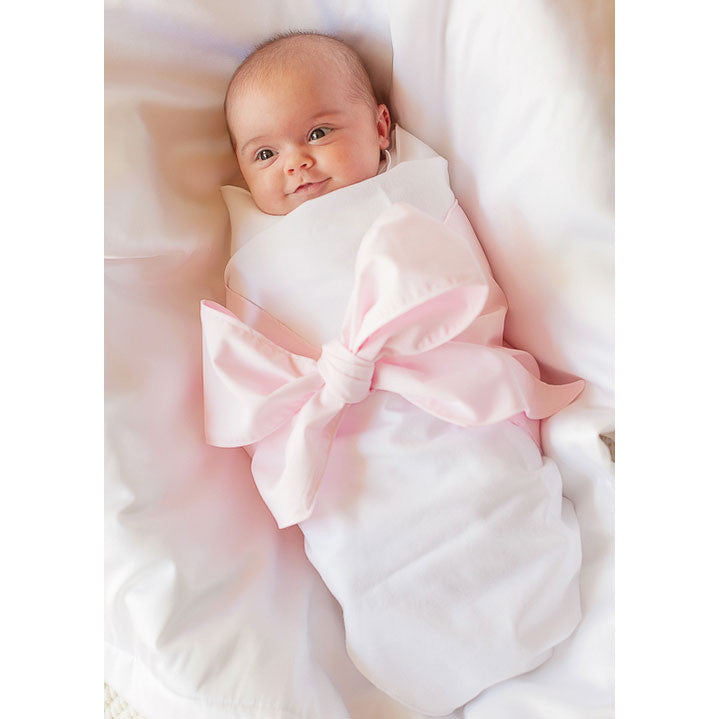 Bow Swaddle Blanket - Charlotte's Inc