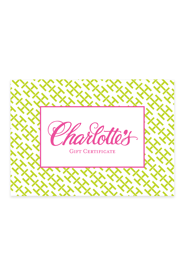 Gift Card - Charlotte's Inc