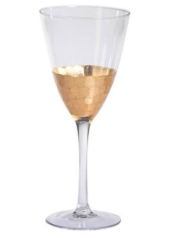Gold Fez Wine Glasses - Charlotte's Inc