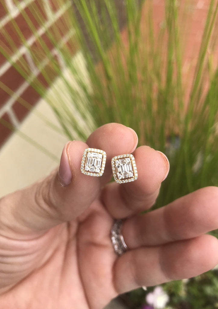 Diamond Stud Earring - Charlotte's Inc