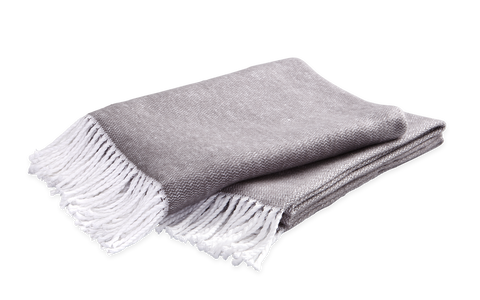 Matouk Pezzo Throw - Charlotte's Inc
