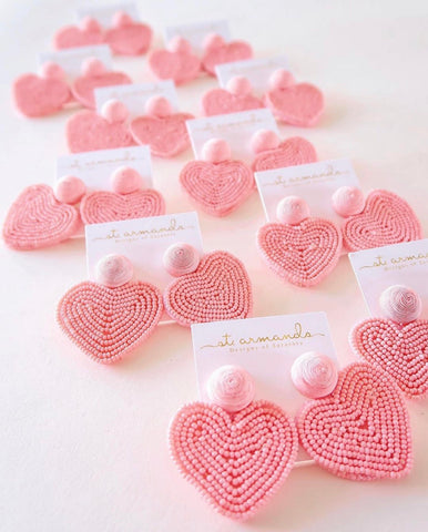 Heart Earrings - Charlotte's Inc