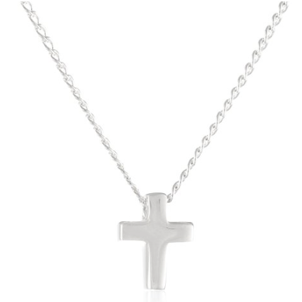 Charlotte's Best Sterling Cross Necklace