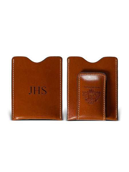 Monogrammed Mens Money Clip