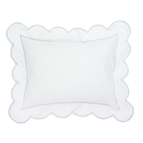 Matouk Monogram Boy's Baby Pillow