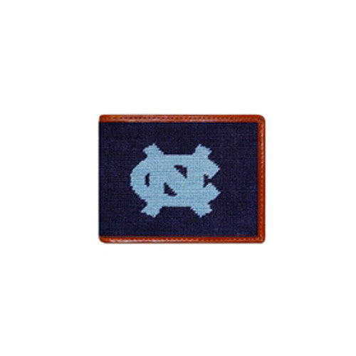 UNC Needlepoint Wallet - Charlotte's Inc