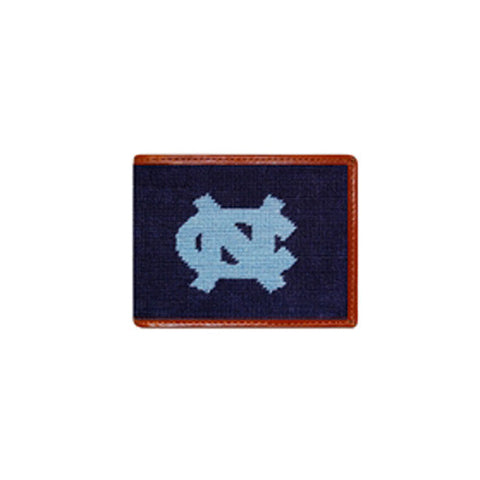 UNC Needlepoint Wallet