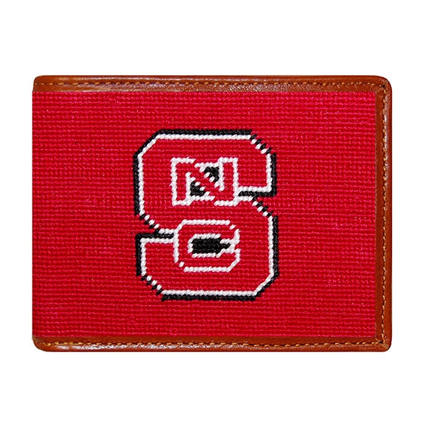NC State Needlepoint Wallet