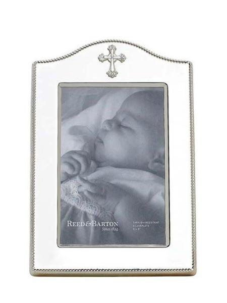 Reed and Barton Abbey Cross Frame - Charlotte's Inc