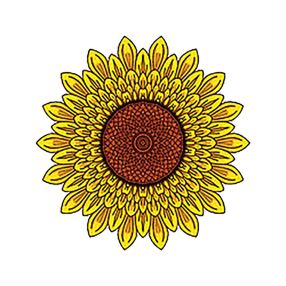 Sunflower Decal Sticker