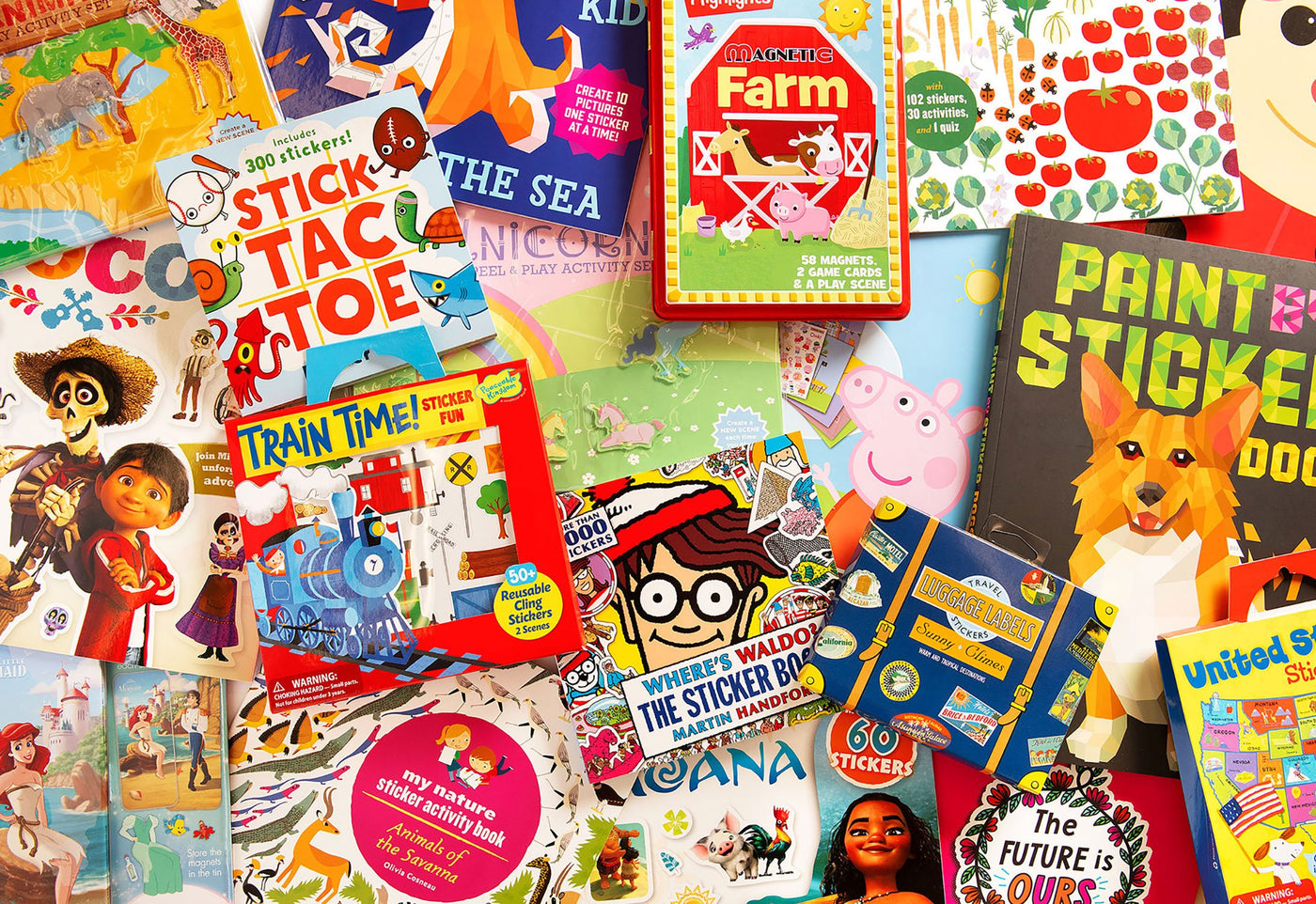 Assorted Sticker Books And Activities