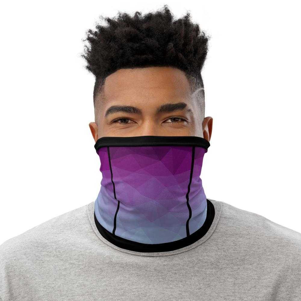 This Moda TRI Quench facemask / neck gaiter is a versatile accessory that can be used as a face covering, headband, bandana, wristband, and neck warmer. Upgrade your accessory game and find a matching face shield for each of your outfits.