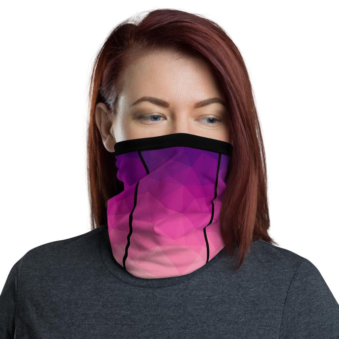 This Moda TRI Bubble facemask / neck gaiter is a versatile accessory that can be used as a face covering, headband, bandana, wristband, and neck warmer. Upgrade your accessory game and find a matching face shield for each of your outfits.