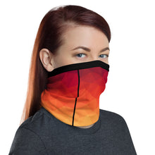 Load image into Gallery viewer, This Moda TRI Ocean facemask / neck gaiter is a versatile accessory that can be used as a face covering, headband, bandana, wristband, and neck warmer. Upgrade your accessory game and find a matching face shield for each of your outfits.
