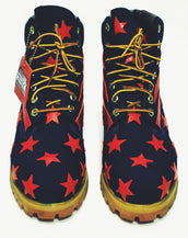 Stars and Earned Stripes Custom Timberland Boot