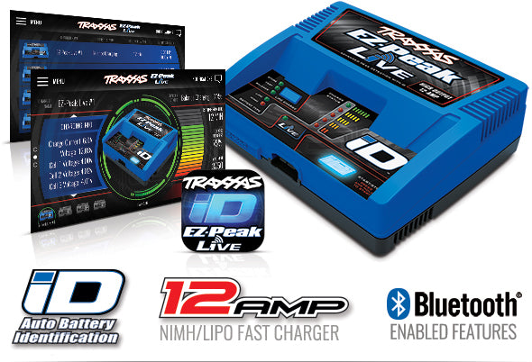 2993 Traxxas EZ-Peak Dual Live 4S Completer Pack with 2 6400mAh LiPos