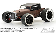 1/16 Rat Rod Clear Body :E-REVO