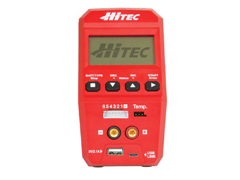 Hitec RDX1 AC/DC Battery Charger/Discharger (44245)