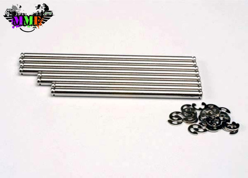4939X Traxxas Stainless Steel Hinge Pin Set (Emx Tmx.15 2.5) Parts