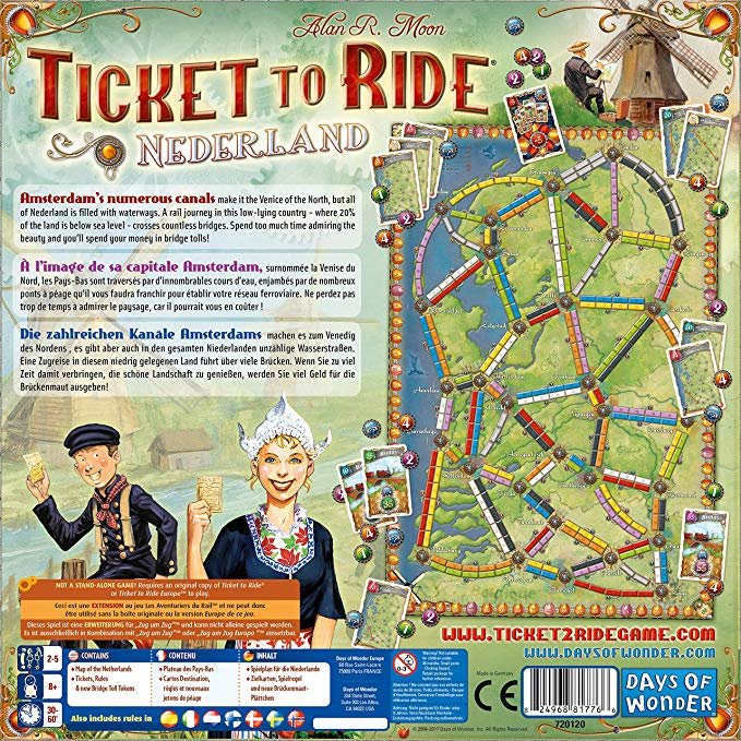 TICKET TO RIDE : MAP
