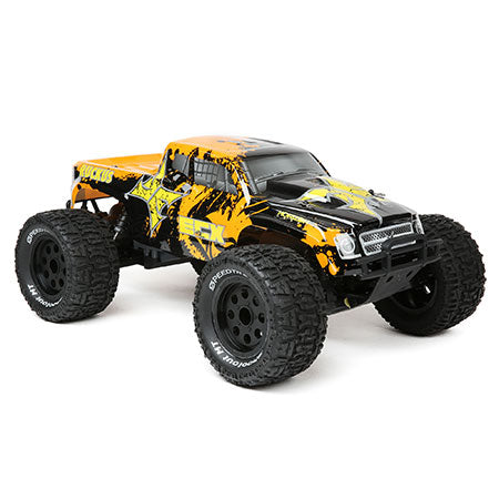 1/10 2wd Ruckus Monster Truck BD, Lipo:Blk/Org RTR