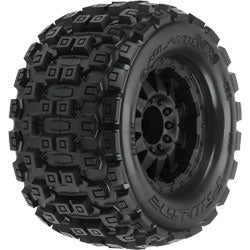 Badlands MX38 3.8 MTD F-11 1/2 Offset 17mm (2) MT