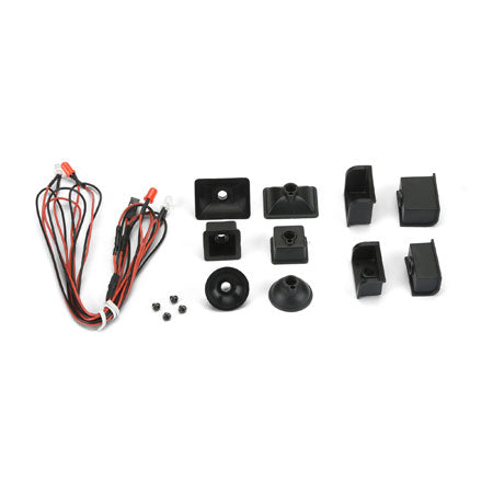 Universal LED Headlight & Tail Light Kit -Crawlers (6317-00)