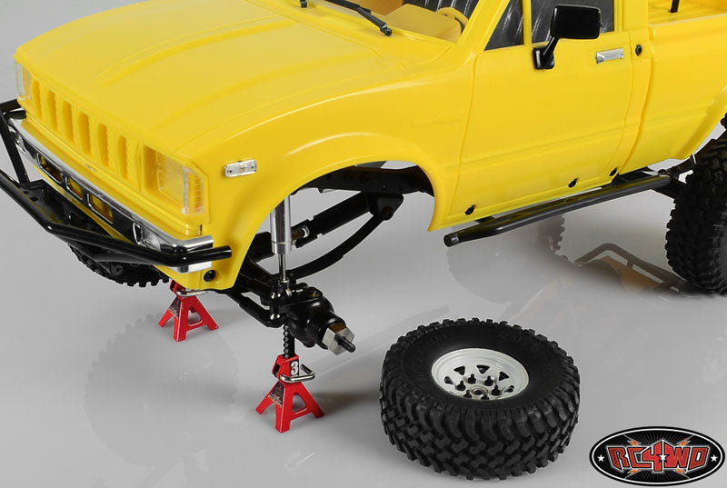 RC Chubby Mini 3 TON Scale Jack Stands (S0731)