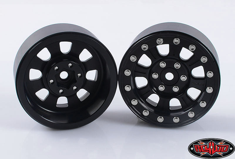 "RC4WD Raceline Monster 2.2"" Beadlock Wheels (Black)"