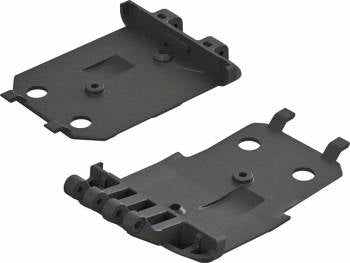 ARA320419 F/R Lower Skidplate (2) 4X4 Senton Mega
