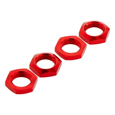 ARA330360 Alum Wheel Nut 17mm Red Nero