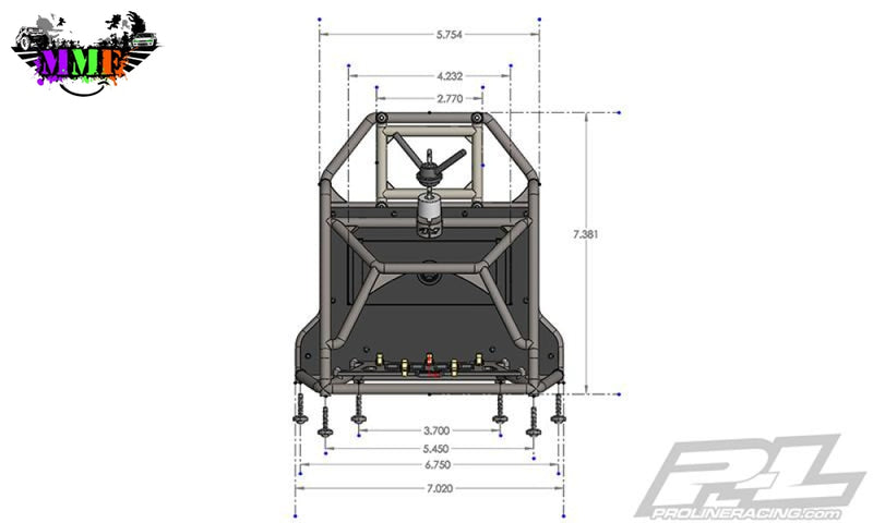 Back-Half Cage:  Pl Cab Only Crawler Bodies 6322-00 Body