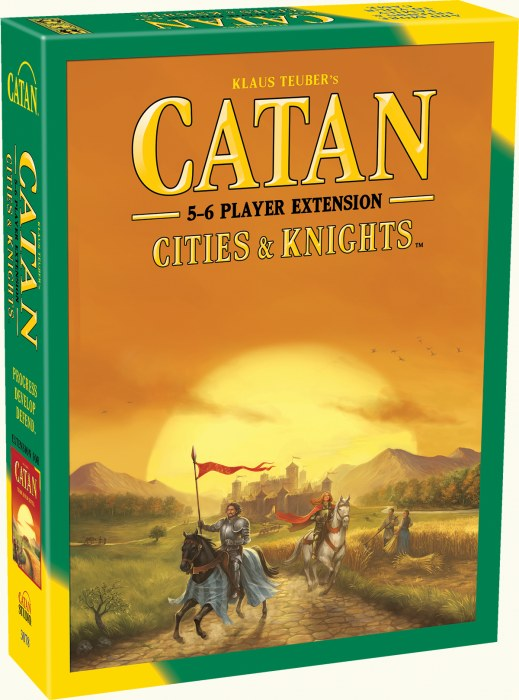 CATAN EXT: CITIES & KNIGHTS 5-6 PLAYER