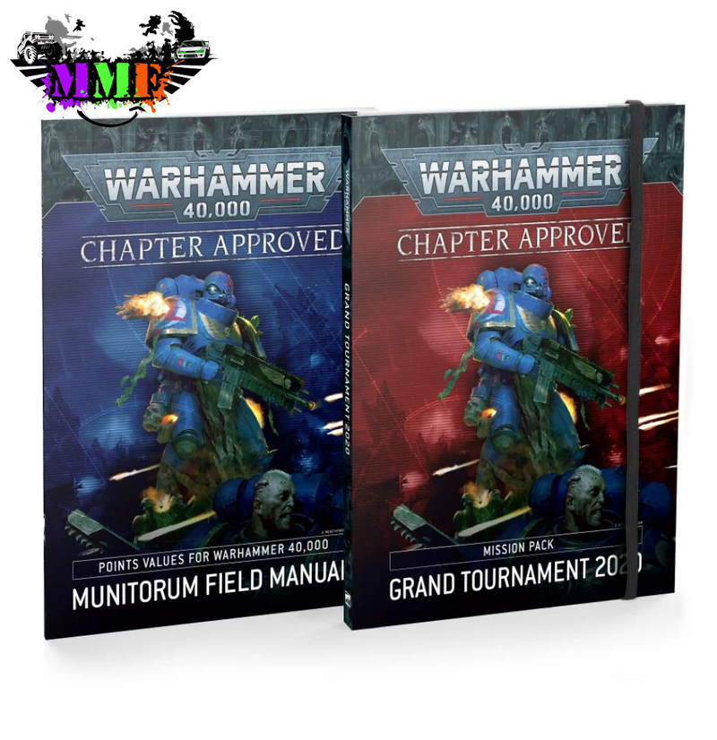 Chapter Approved: Grand Tournament 2020 Mission Pack And Munitorum Field Manual Rules Book
