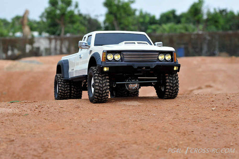 PG4L 1/10 Dually 4x4 Pickup Truck Crawler Kit, 2-Speed