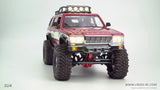 SU4C 1/10 Demon 4x4 Crawler Kit-Full Hard Body SUV, CNC Rims