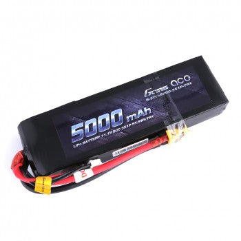Gens ace 5000mAh 11.1V 50C 3S1P Lipo Battery Pack with XT60 plug