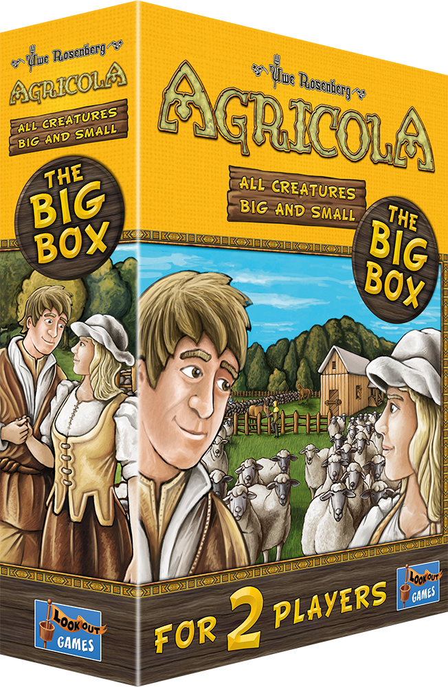 AGRICOLA : ALL CREATURES BIG AND SMALL BIG BOX