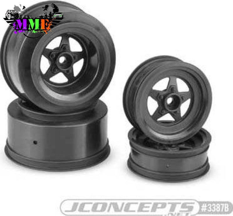 Jco3387B Startec Street Eliminator Whl Black Slash/4X4 Wheels
